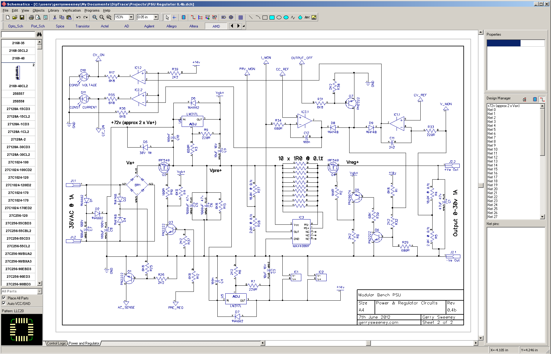 The good the bad and the ugly schematic and pcb - Systeme accroche tableau ...