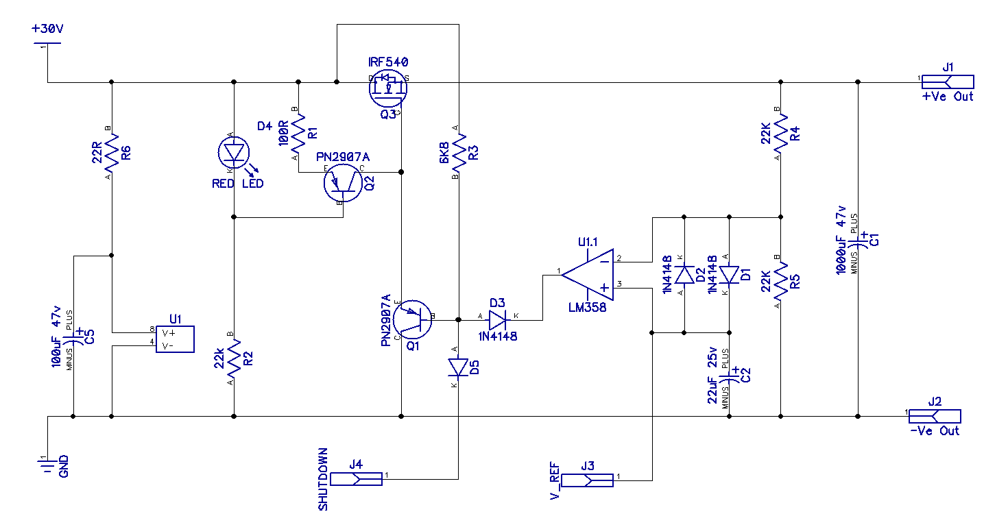 Op Amp Classic Gain And Linearity Testing Circuit Diagram