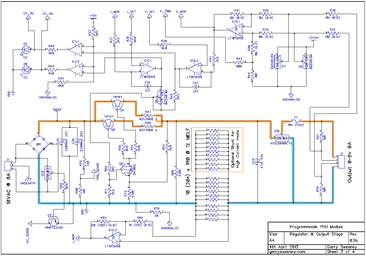 Agilent Bench Power Supply
